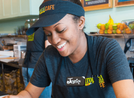 Tropical Smoothie Cafe employee
