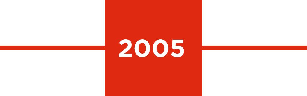 Timeline year: 2005