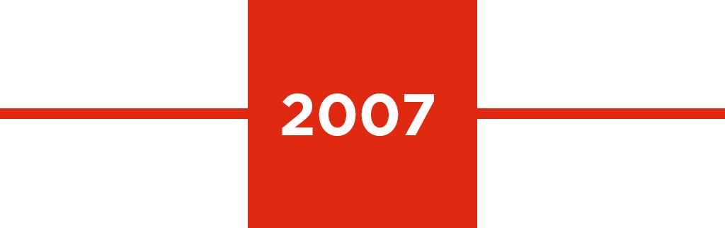 Timeline year: 2007