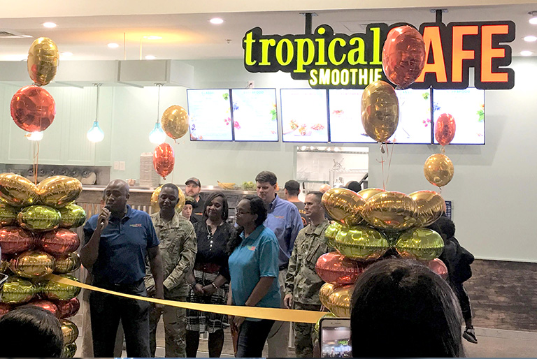 Tropical Smoothie Cafe Fort Gordon Grand Opening