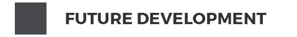 Map key: Grey - Future Development