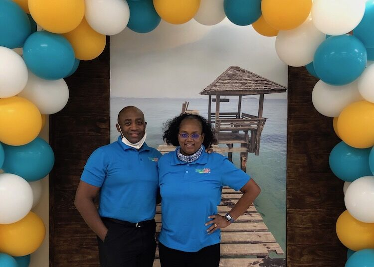 Reginald and Zenna Foster, Tropical Smoothie Cafe Franchise Owners
