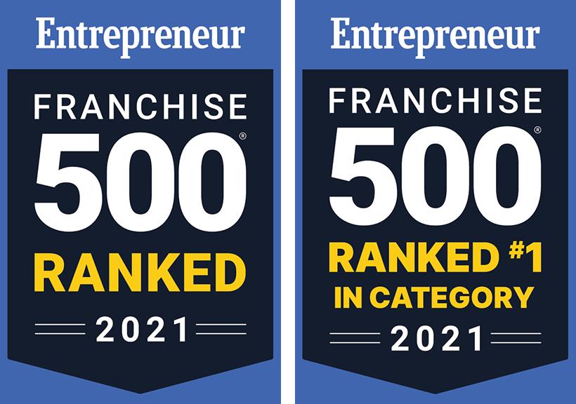 Entrepreneur Franchise 500 2021