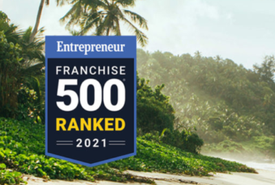 Entrepreneur Franchise 500 Ranked 2021